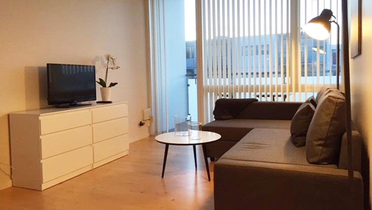 TV at Brendstrupgrdsvej Apartments