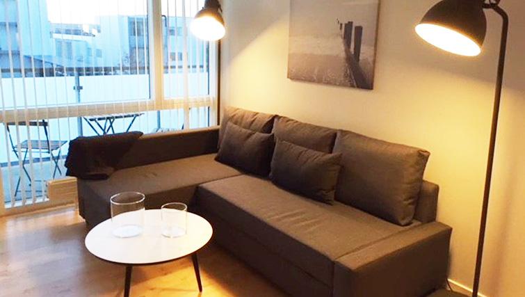 Living room at Brendstrupgrdsvej Apartments