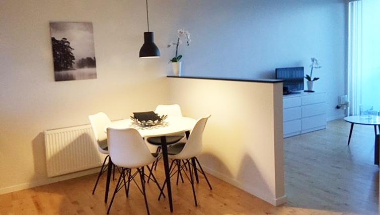 Dining table at Brendstrupgrdsvej Apartments