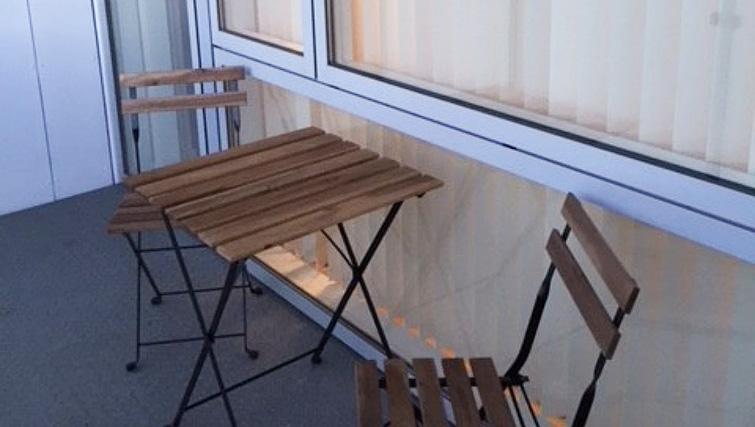 Balcony at Brendstrupgrdsvej Apartments
