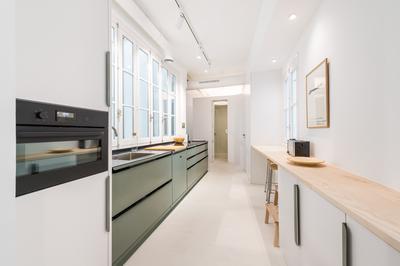 Kitchen at Delicias Apartment