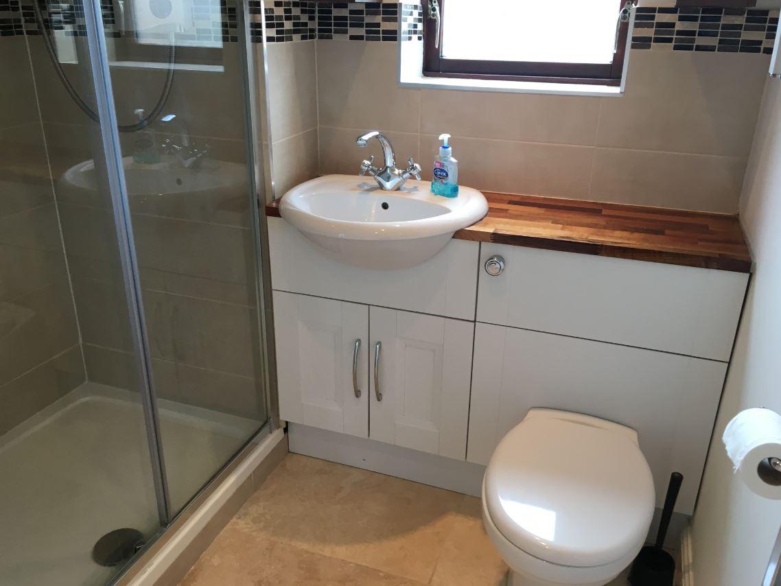 Bathroom at Hunters House Apartment
