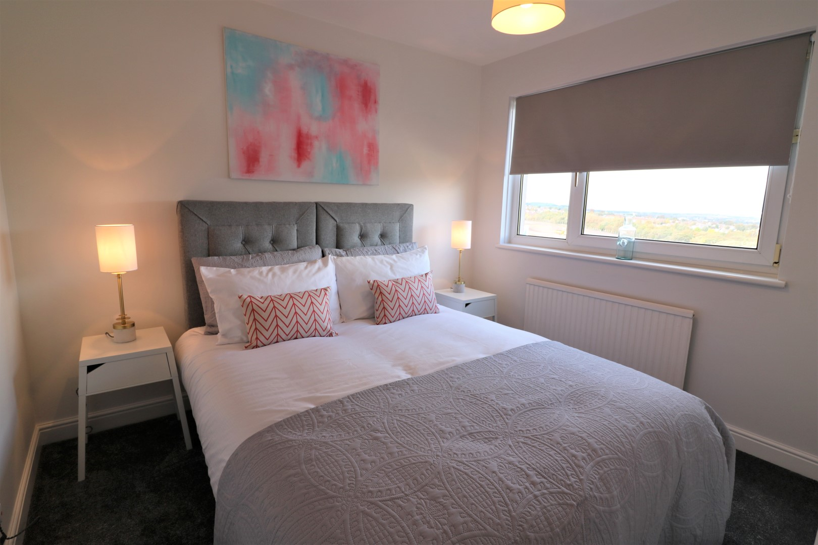 Cosy bedroom at Brora House