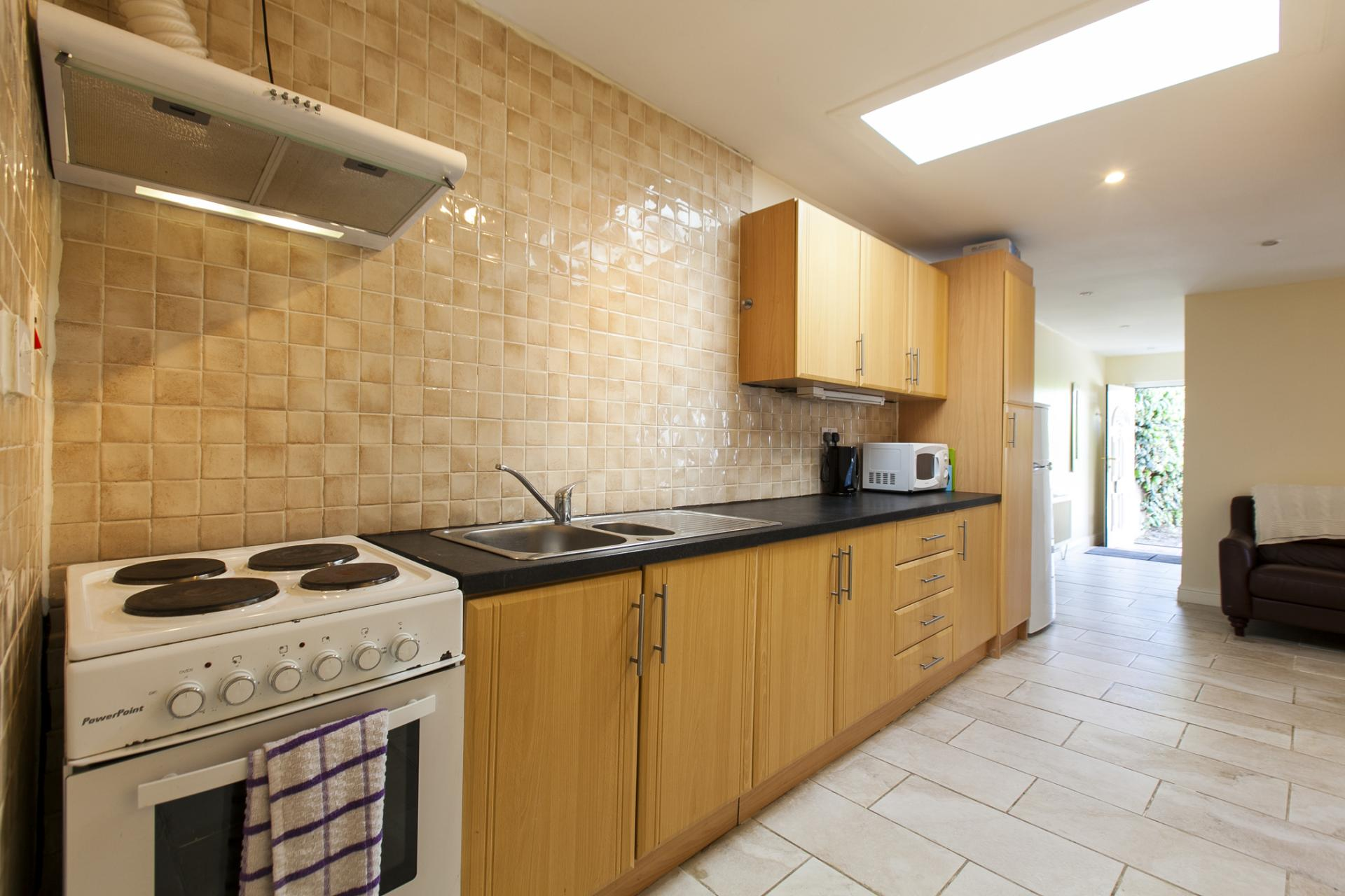 Kitchen at Tyrconnell Road Apartments