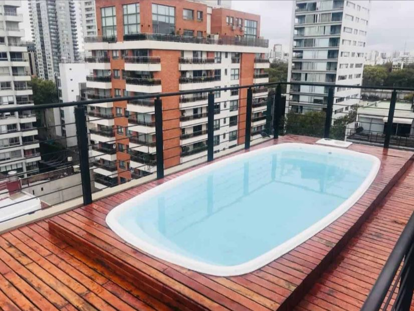 Pool at Costa Rica Apartment, Palermo, Buenos Aires
