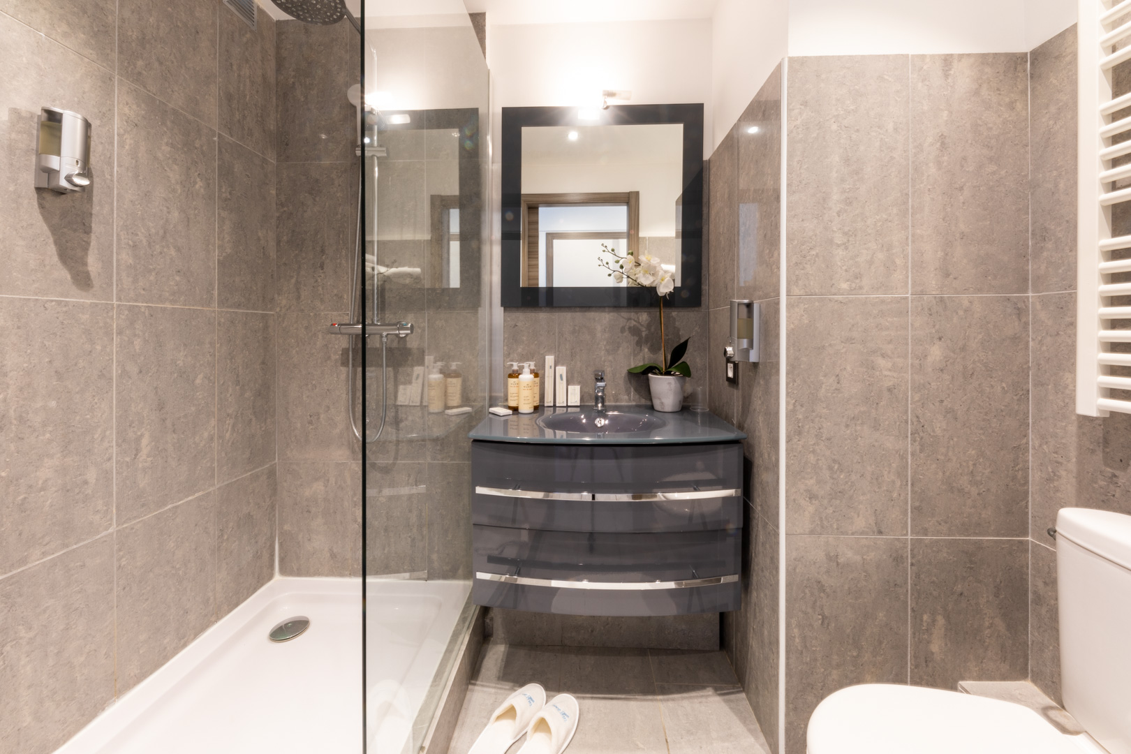 Bathroom at Sky View Terrace Apartment