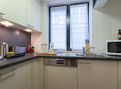 Kitchen at Sablons Apartment