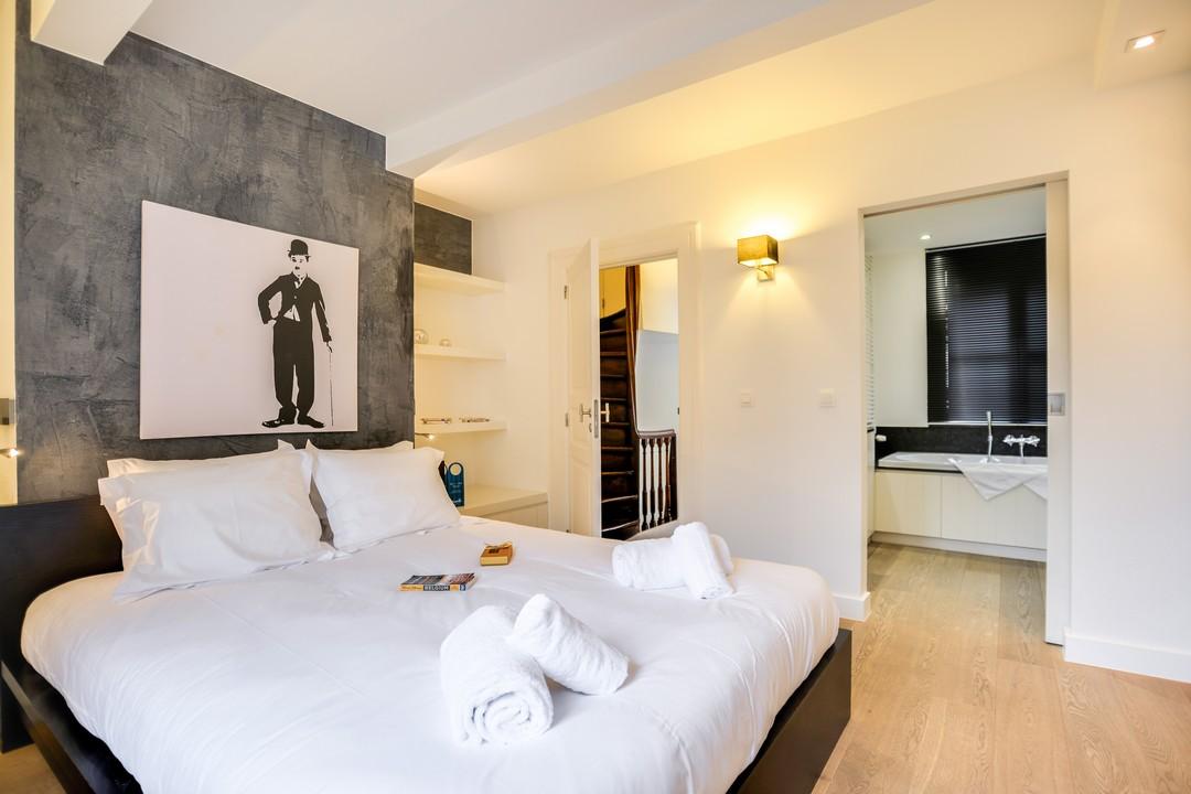 Bedroom at Sablons Apartment