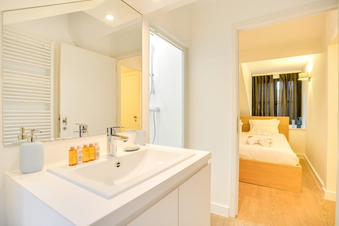 Bathroom at Sablons Apartment