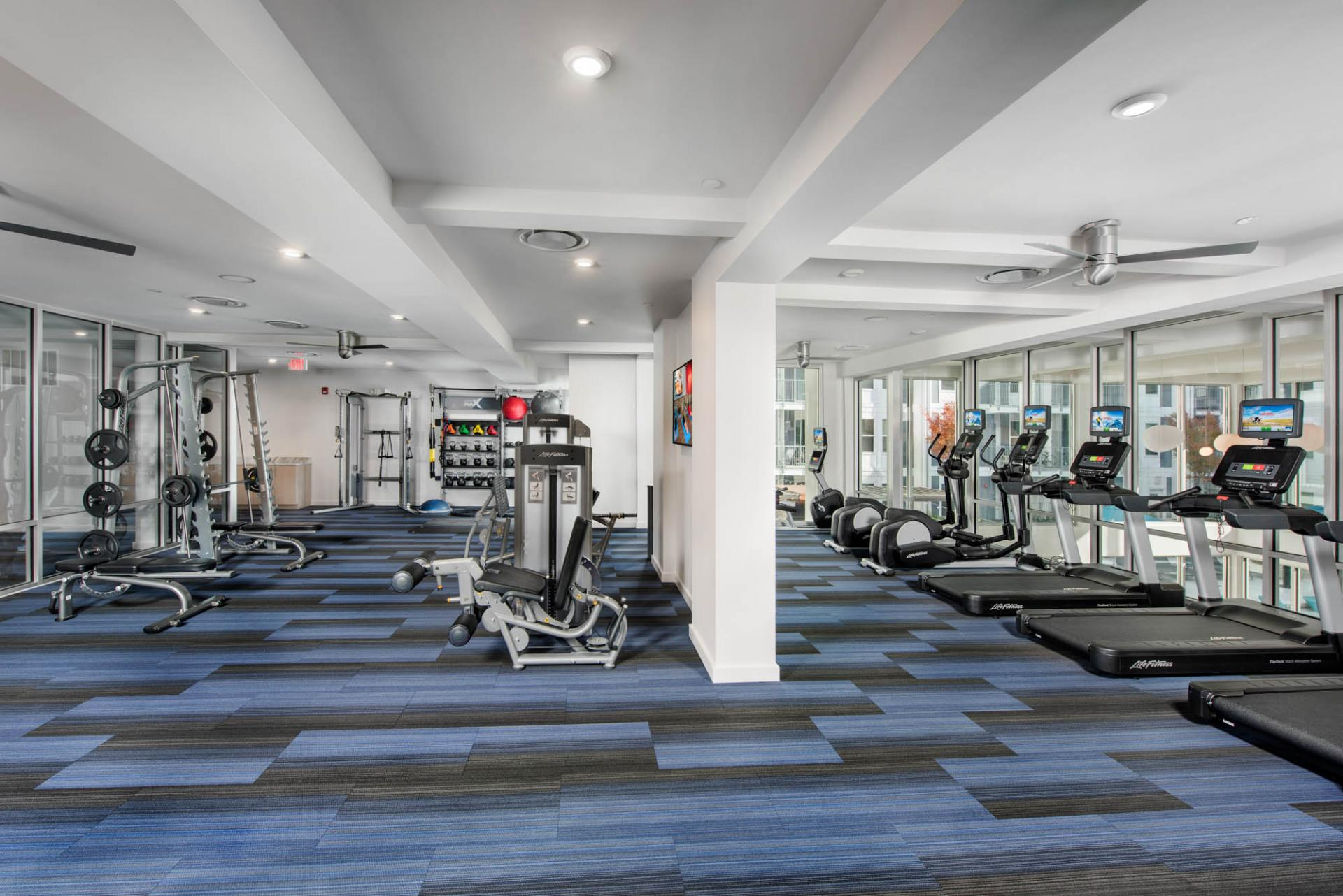 Fitness Centre at Spectrum on Spring Apartment