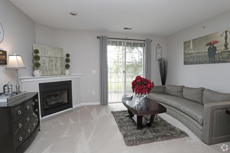 Living room at Ventana Hills Apartment