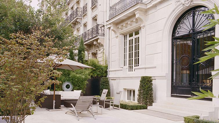Exterior at La Reserve Paris Apartments