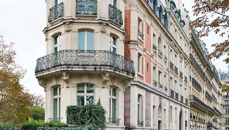 Building at La Reserve Paris Apartments