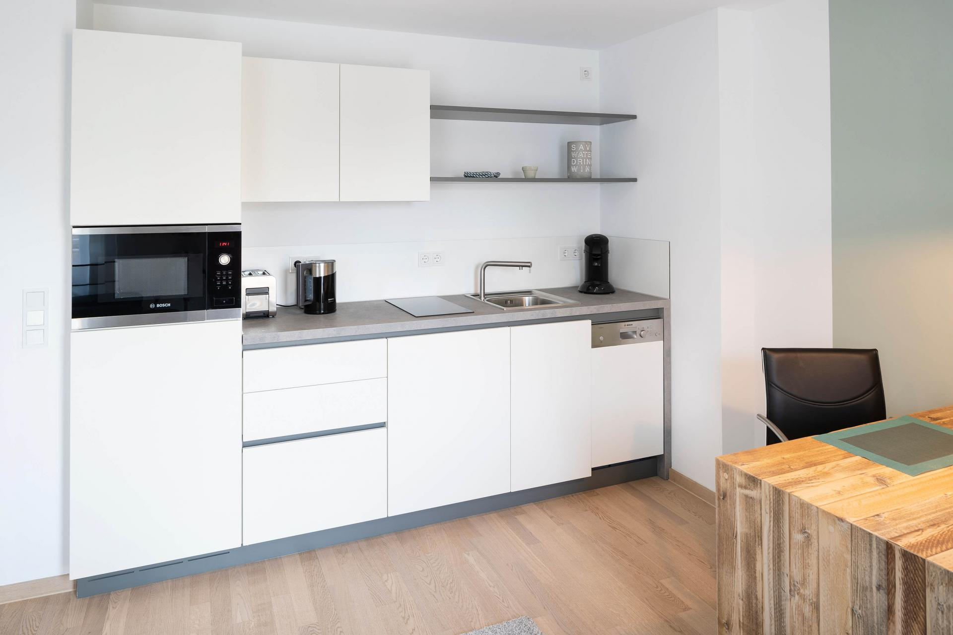 Kitchen at Westend Apartments