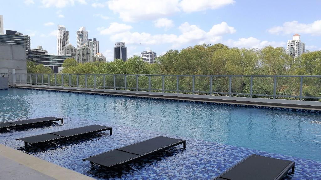 Pool at Ristretto Apartment, Costa Del Este, Panama City