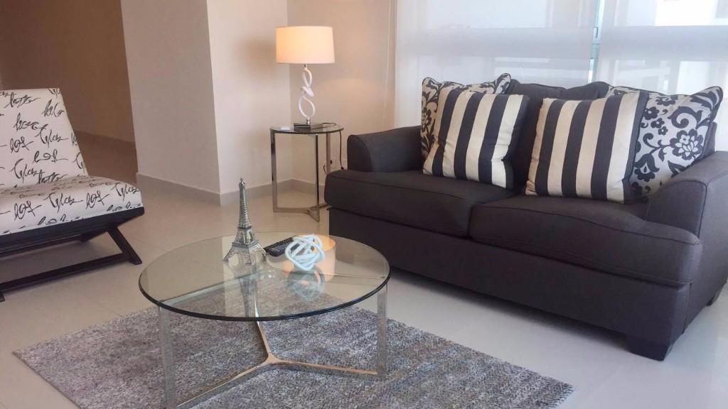 Table at Ristretto Apartment, Costa Del Este, Panama City