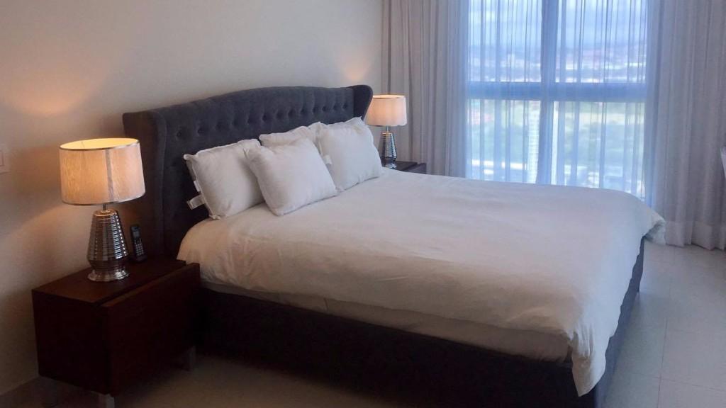 Bed at Ristretto Apartment, Costa Del Este, Panama City