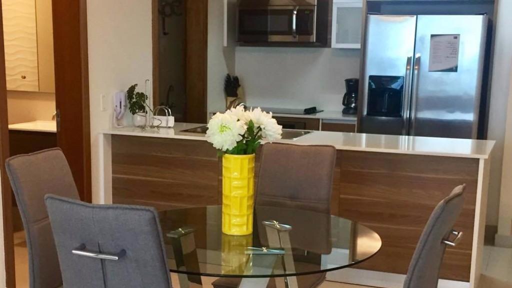 Kitchen at Ristretto Apartment, Costa Del Este, Panama City