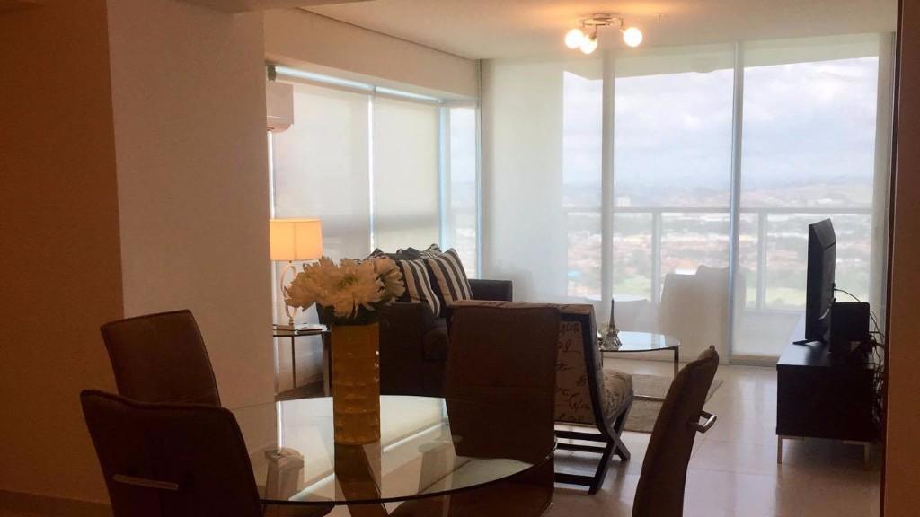Windows at Ristretto Apartment, Costa Del Este, Panama City