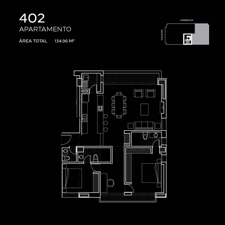 Floorplan 2 at Attik Apartments