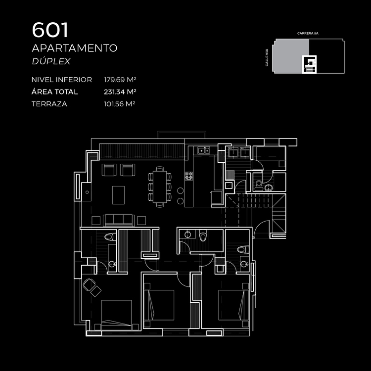 Floorplan 5 at Attik Apartments