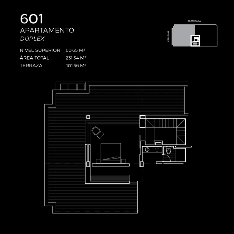 Floorplan 6 at Attik Apartments