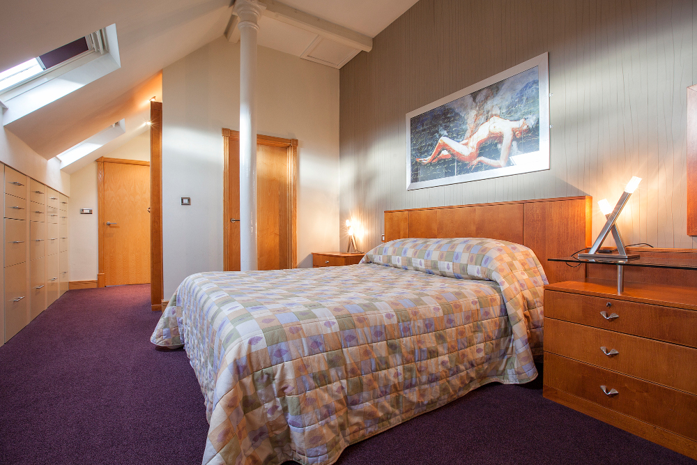 Bedroom at Pilcher Gate Serviced Apartments