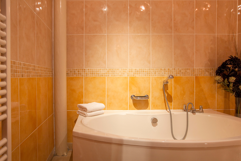 Bathroom at Pilcher Gate Serviced Apartments