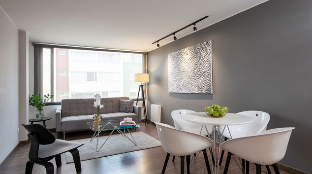 Living room at Bogo64 Apartments