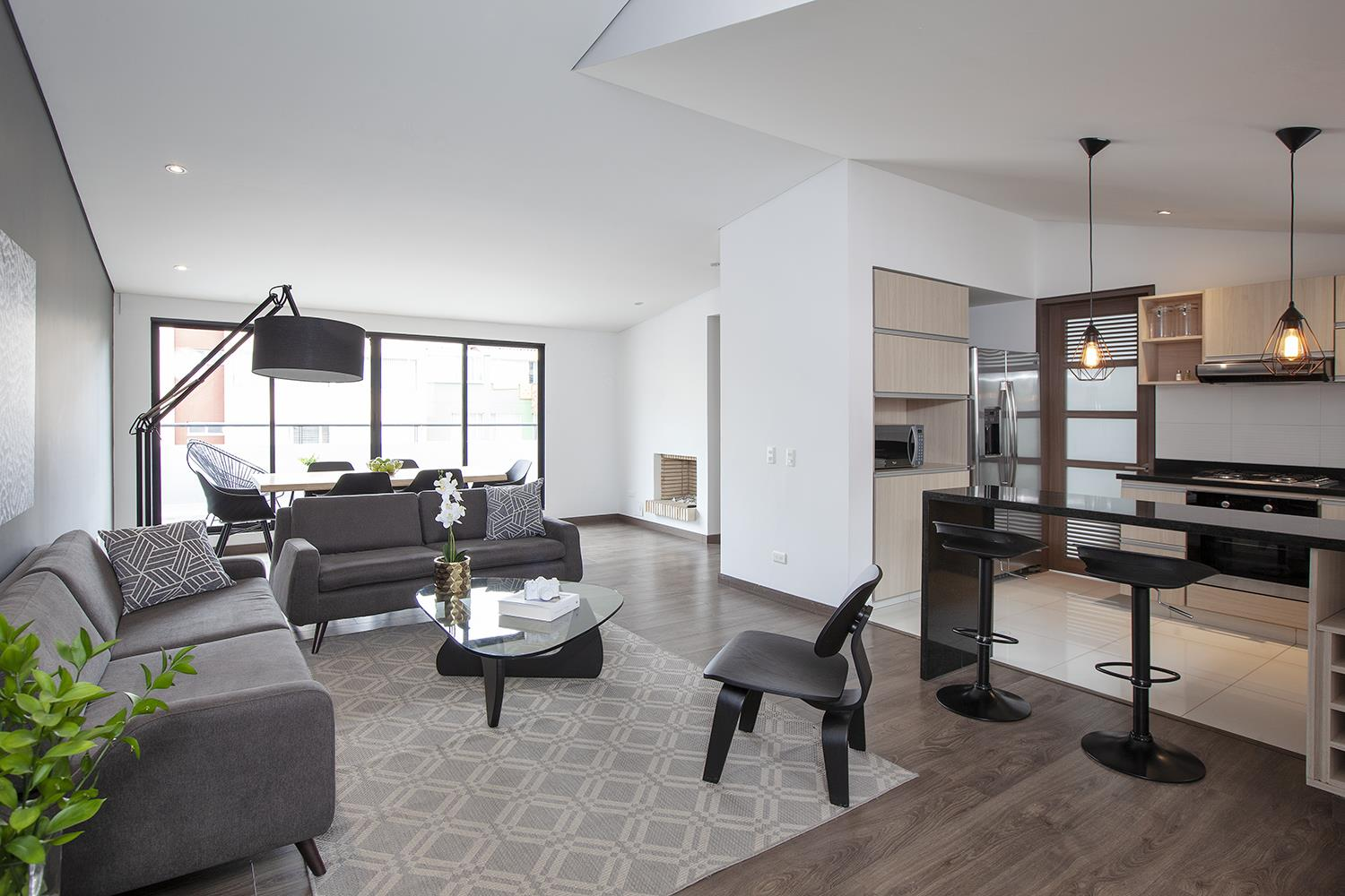 Lounge at Bogo64 Apartments