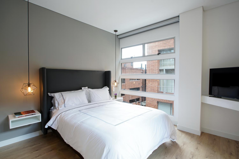 Bedroom at Soho93 Apartments