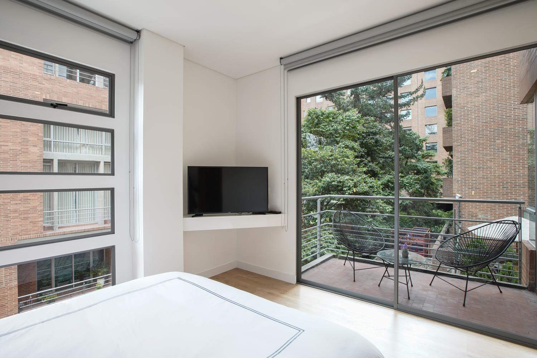 TV at Soho93 Apartments
