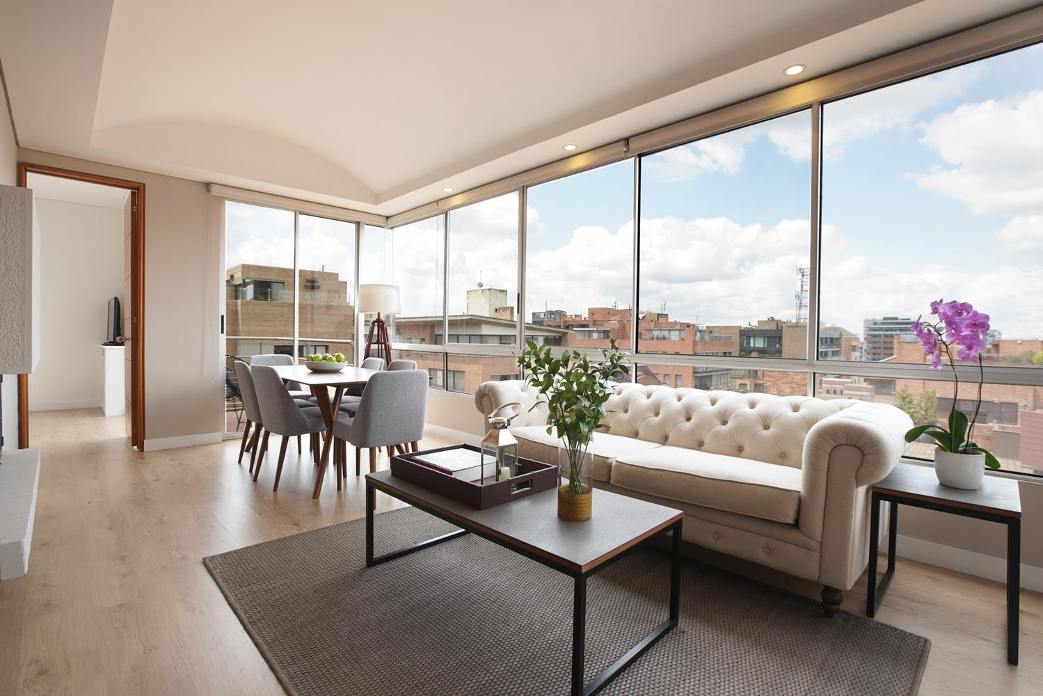 Lounge at Soho93 Apartments