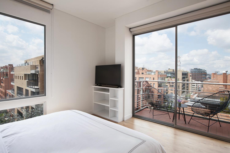 Balcony at Soho93 Apartments