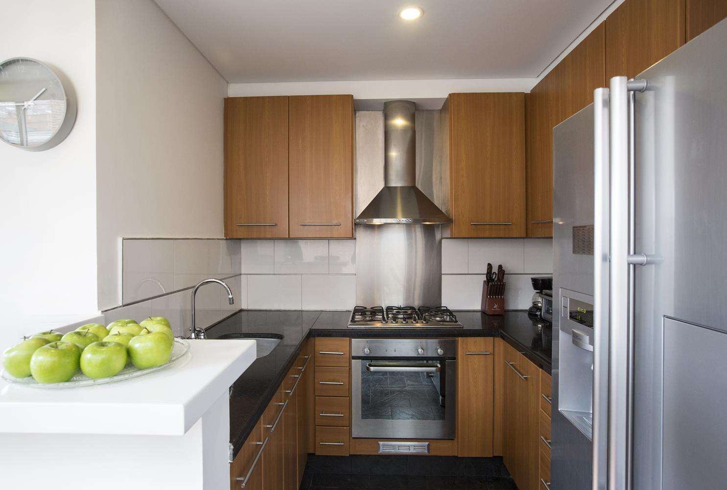 Kitchen at Soho93 Apartments