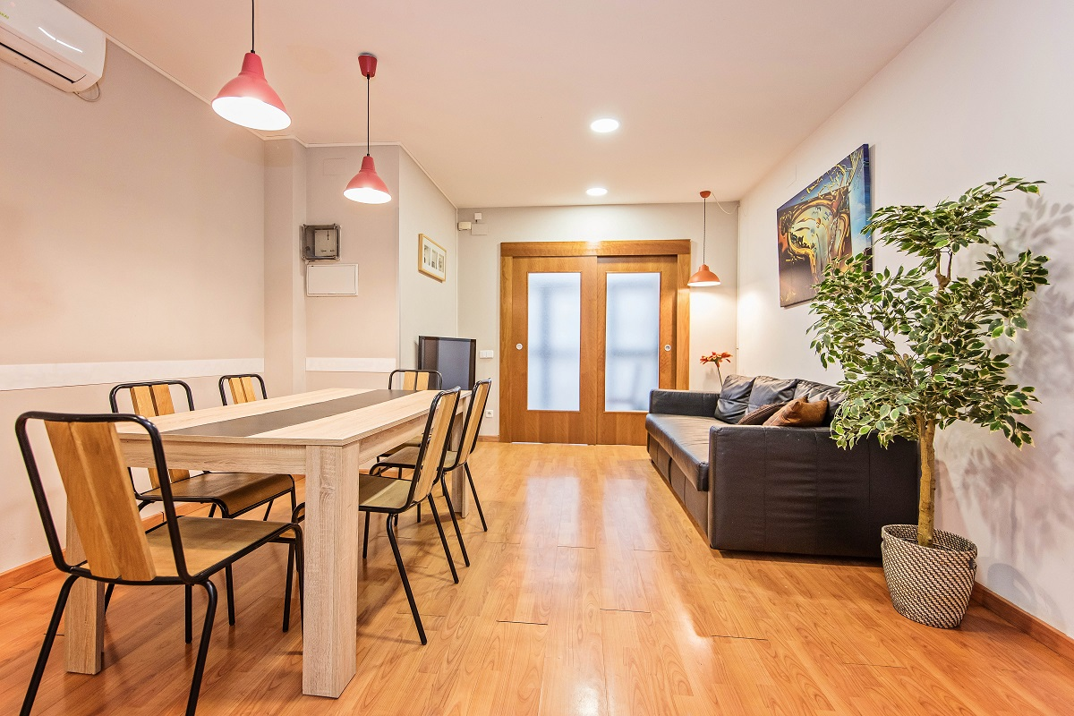Dining area at Font Apartment