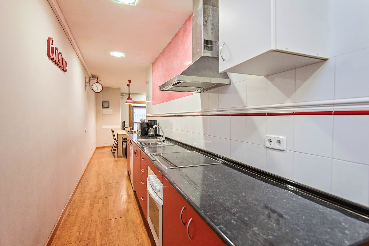 Kitchen at Font Apartment