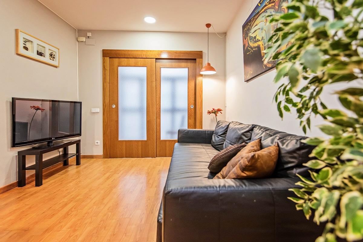Living room at Font Apartment