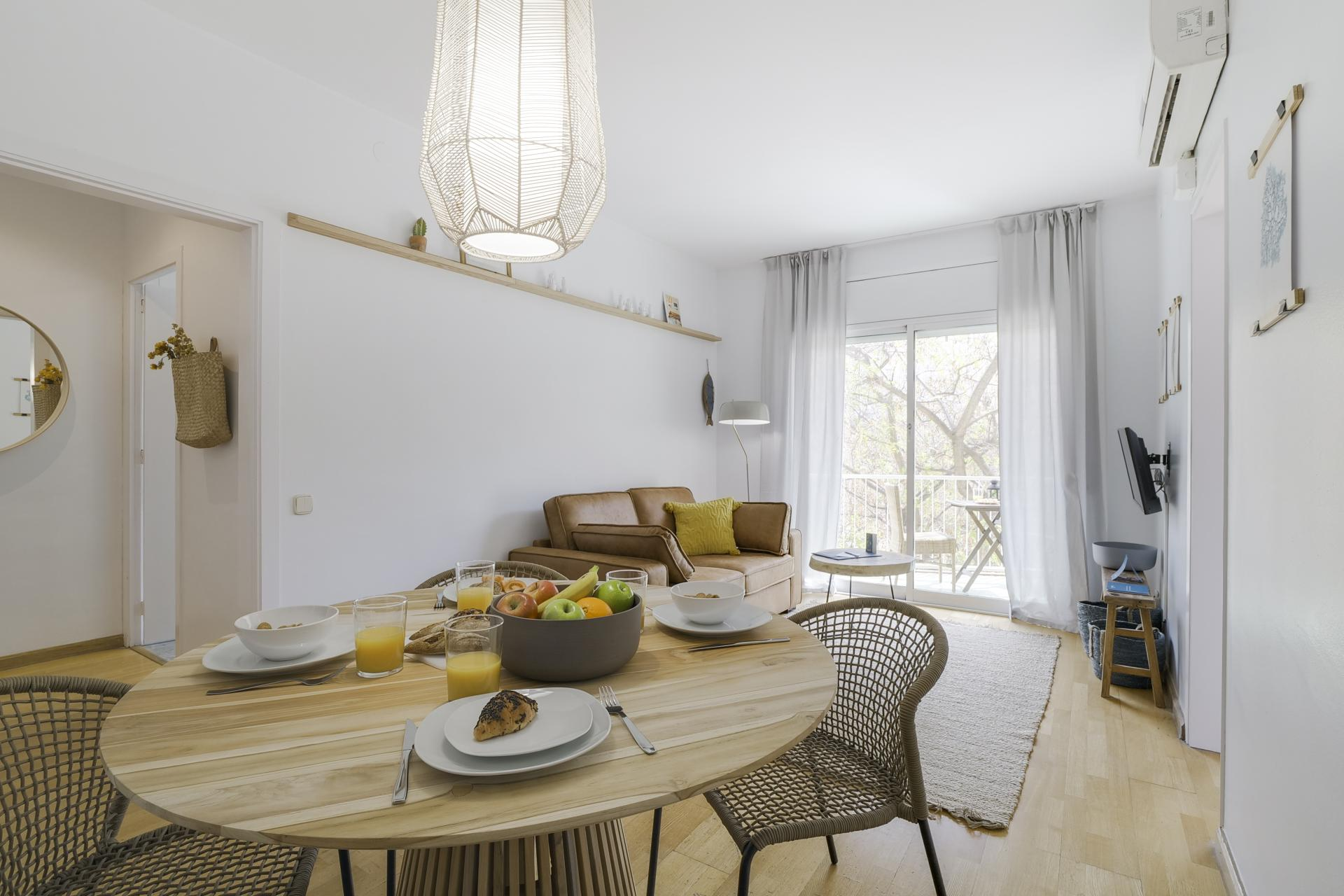 Dining table at Monumental Apartment