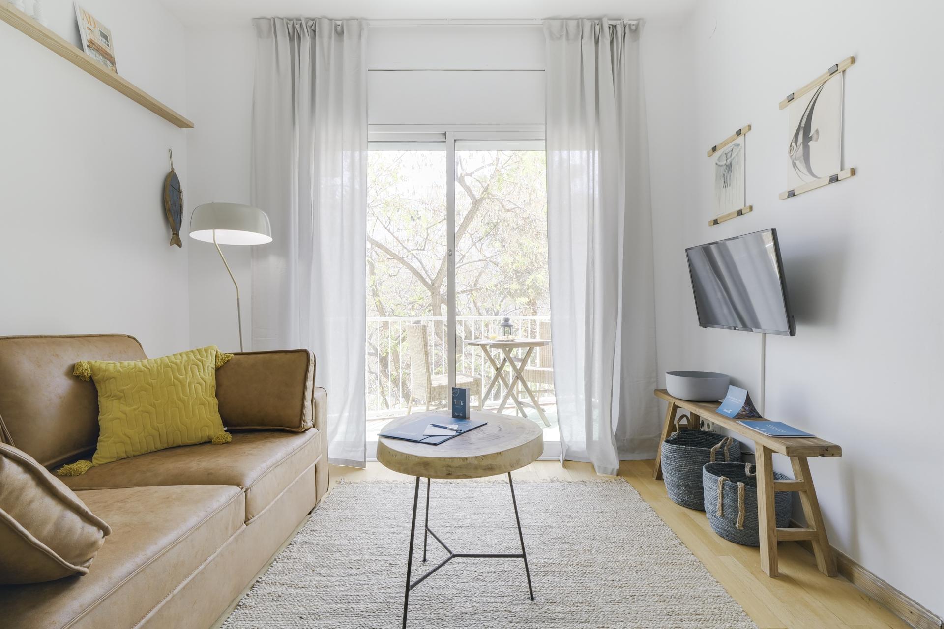TV at Monumental Apartment