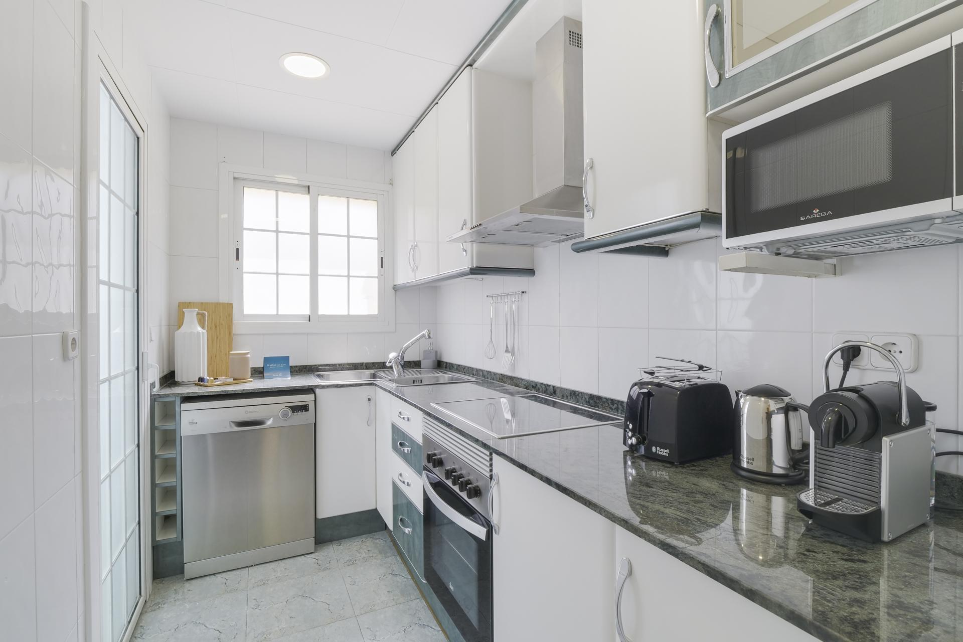 Kitchen at Monumental Apartment