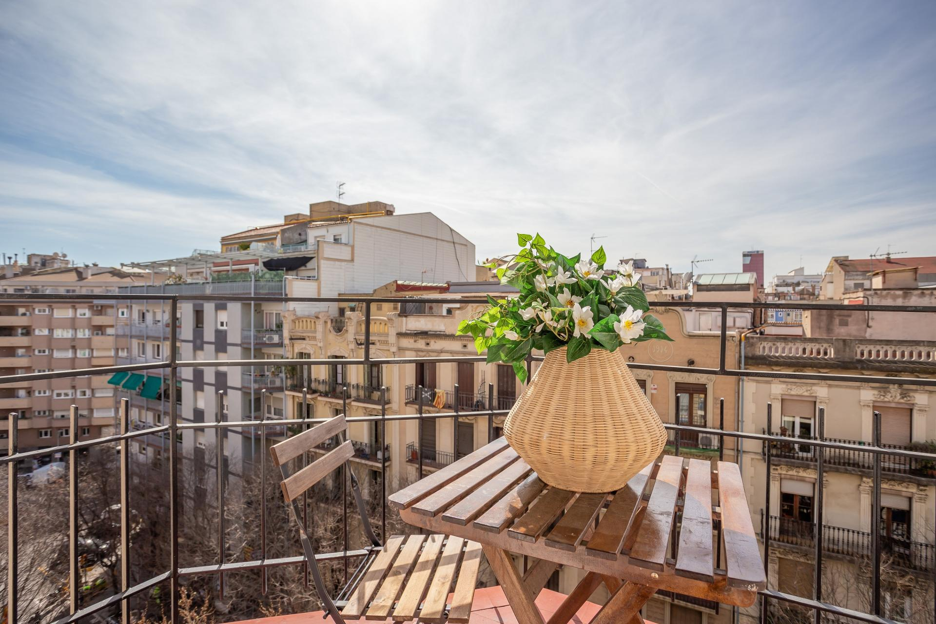Balcony at Rocafort Apartments