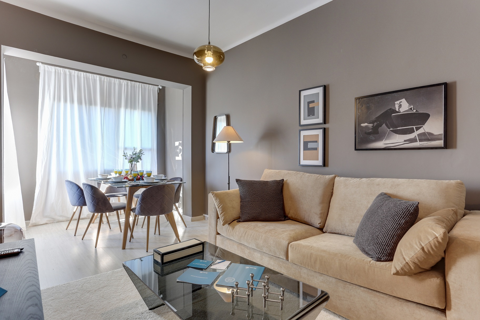 Cosy lounge at Rocafort Apartments