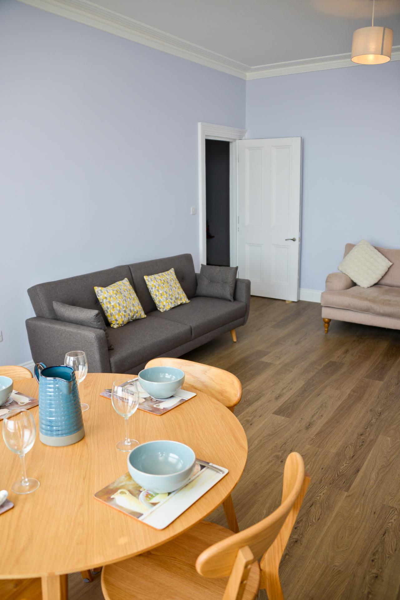 Sofa at Seaview Serviced Apartment