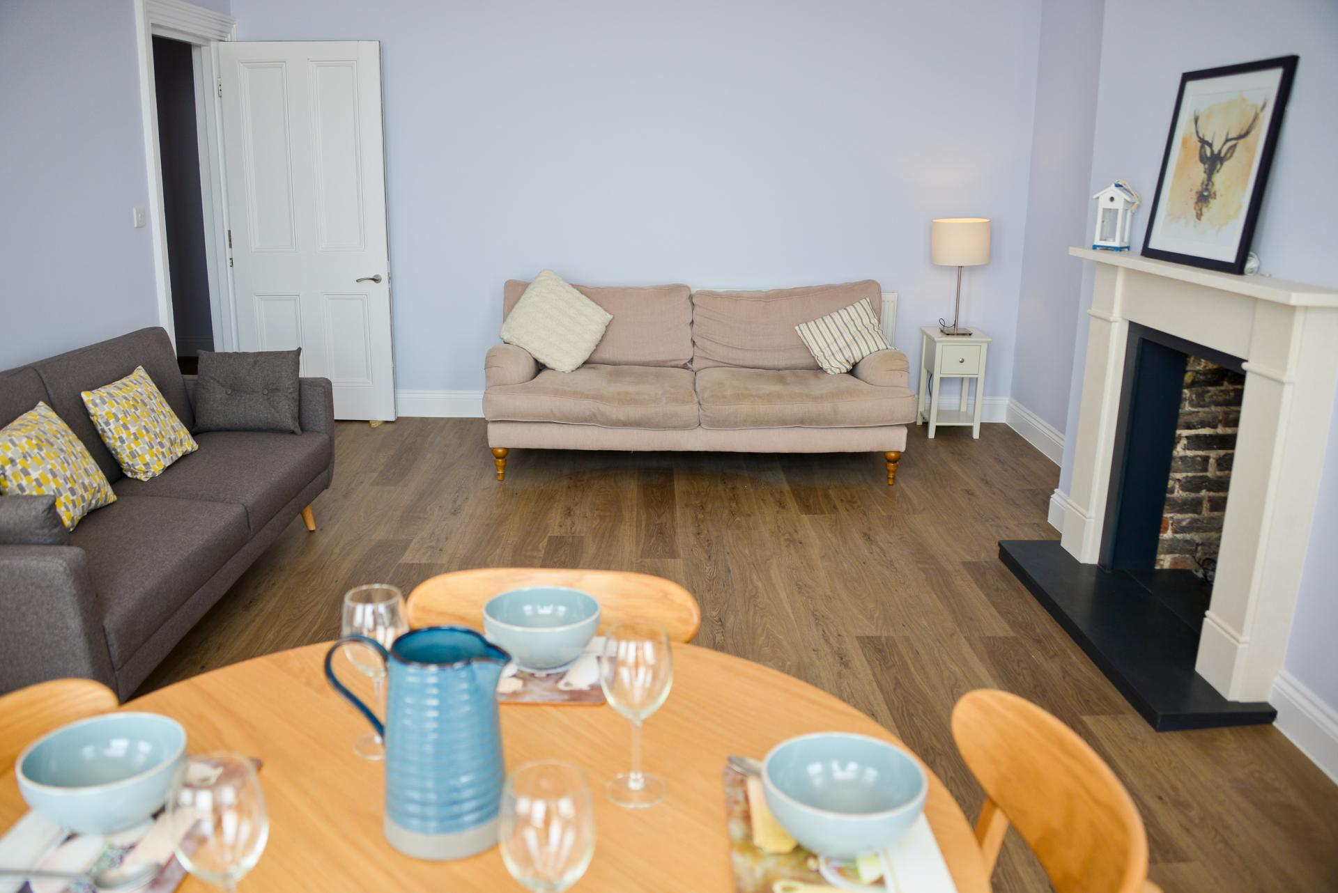 Comfortable living are at Seaview Serviced Apartment