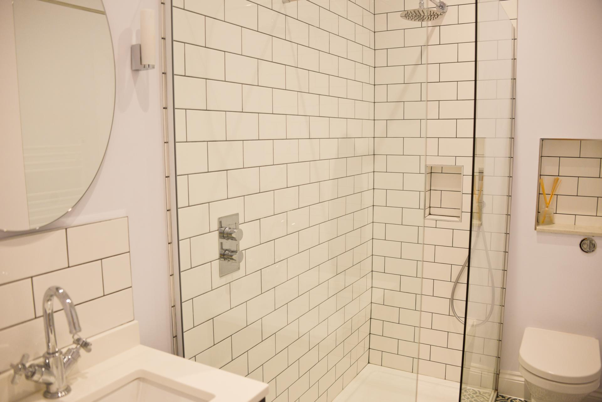 Shower at Seaview Serviced Apartment