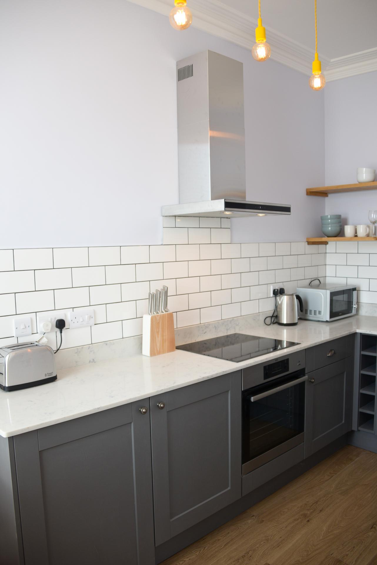 Stove at Seaview Serviced Apartment
