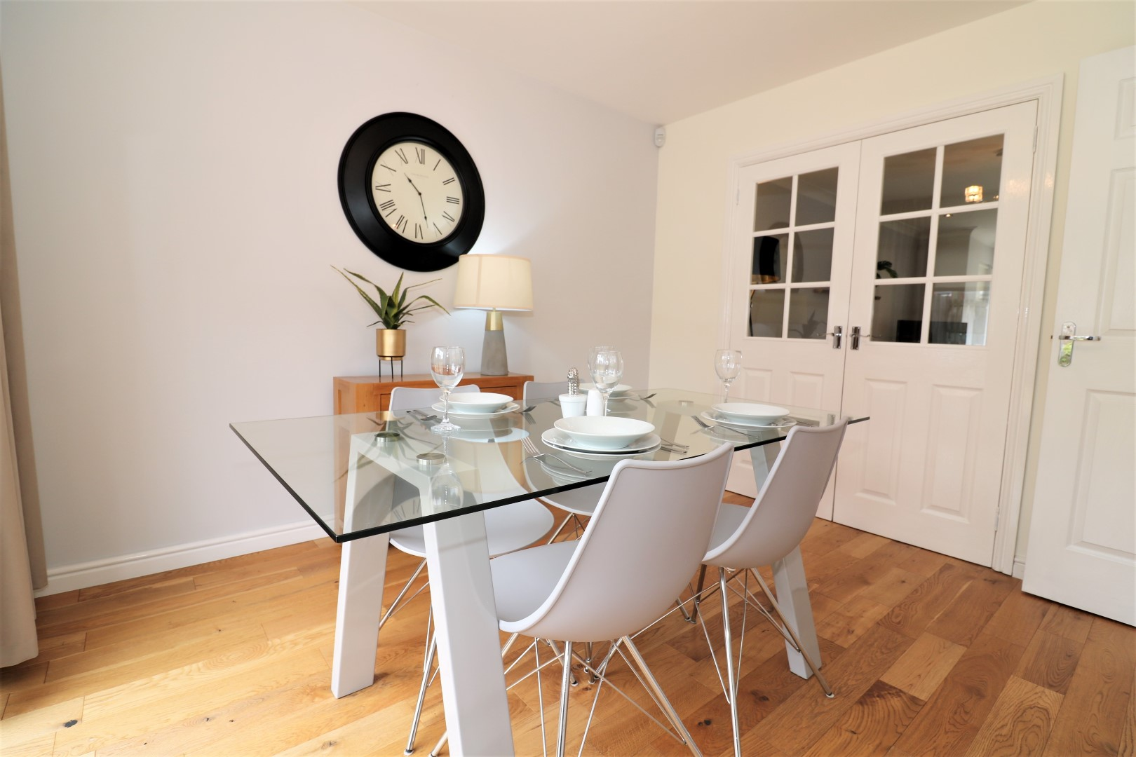 Dining room at Morrsion Way House