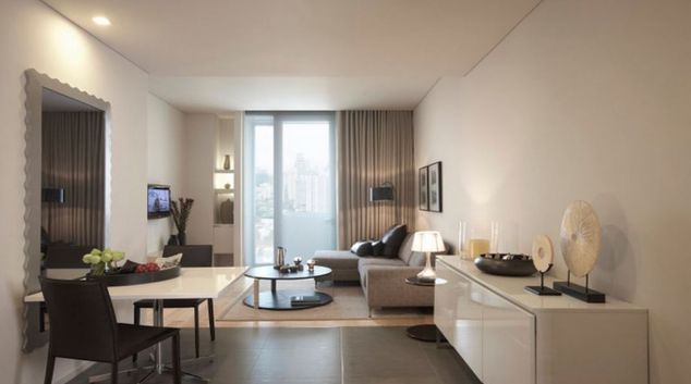 Stunning living area apartment in Somerset Sukhumvit ThonglorApartments