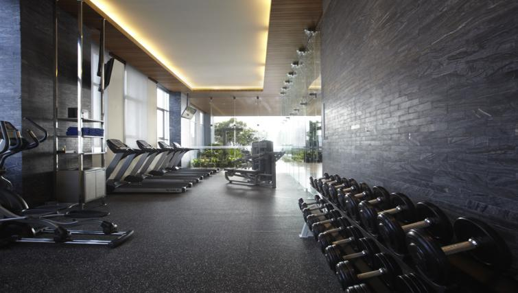 Fitness centre at Somerset Sukhumvit Thonglor Apartments